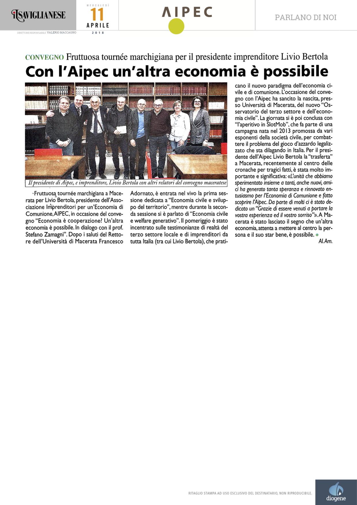 2018-04-11-110427_Il-Saviglianese_Con-lAipec-unaltra-economia--possibile