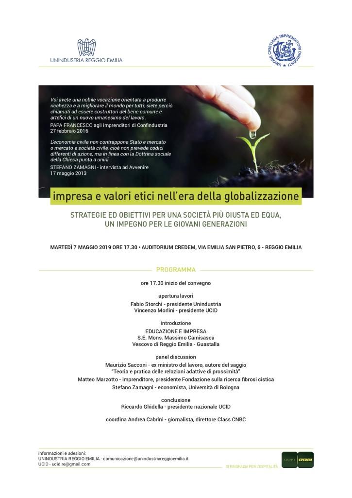 impresa e valori etici 7-05-2019
